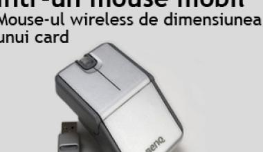 Tehnica revolutionara intr-un mouse mobil