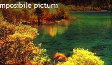 Jiuzhaigou, paradisul culorilor imposibile picturii