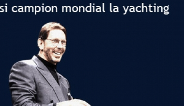 Vedeta lumii IT si campion mondial la yachting