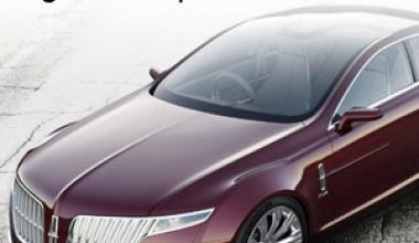 Conceptul MKR: Design-ul Lincoln pentru viitor