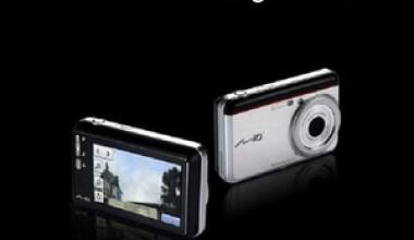 Mio PND: Camera foto cu navigatie GPS