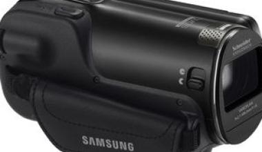 Filmari inteligente cu noul camcorder de la Samsung