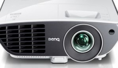 Entertainment HD, printr-un proiector cu lentila asferica