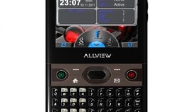 Allview lanseaza un nou telefon pentru segmentul de business
