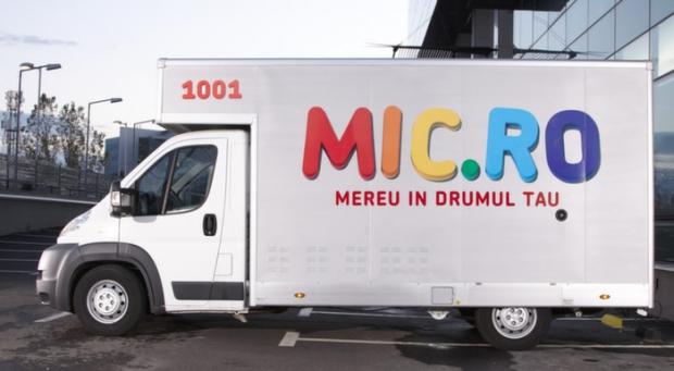 """Defunctul Mic.ro vinde toate cele 65 de ,,magazine mobile"""""""