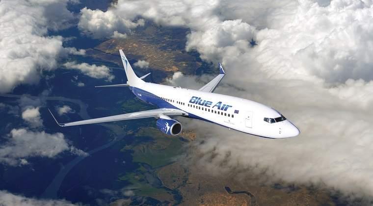 Blue Air a lansat zboruri Cluj Napoca-Bucuresti, patru zile pe saptamana, de la 90 lei