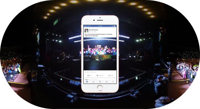"Cum arata noua facilitate ,,Photo 360"" implementata de Facebook"