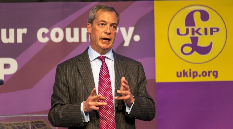 Italia si Marea Britanie vor lansa dezintegrarea UE, afirma Nigel Farage