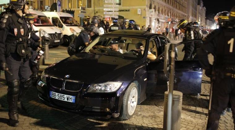 Euro 2016: 35 de persoane ranite in violente stradale la Marsilia; patru sunt in stare grava