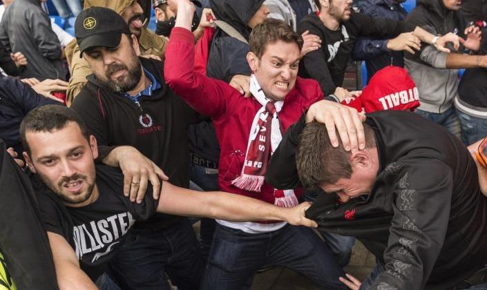 Rusia, afara de la Euro 2016? UEFA a deschis o procedura disciplinara dupa violentele de strada din Marsilia