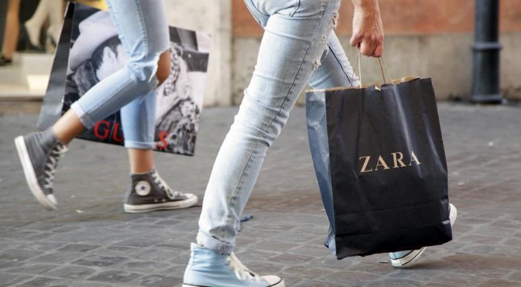 Proprietarul Zara a bifat un profit cu 6% mai mare in primul trimestru