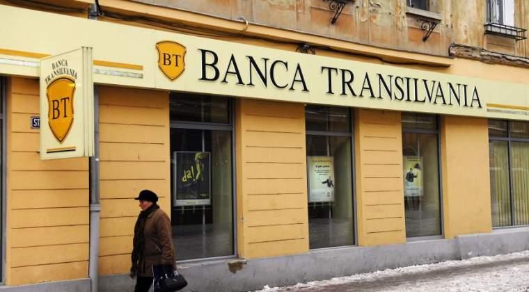 Banca Transilvania contesta in instanta darea in plata in cazul unei executari silite