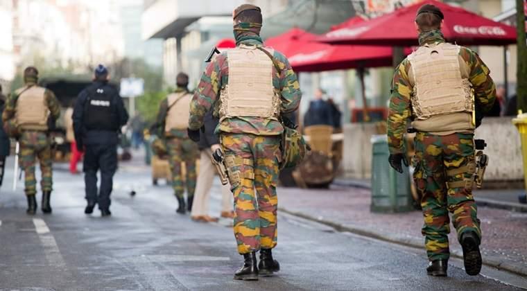 Alerta cu bomba intr-un centru comercial din Bruxelles
