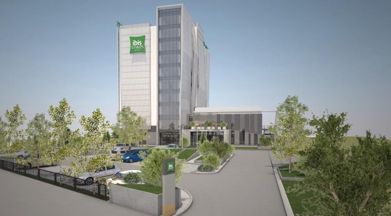 Polonezii de la Orbis au inceput constructia primului hotel Ibis Styles din Romania