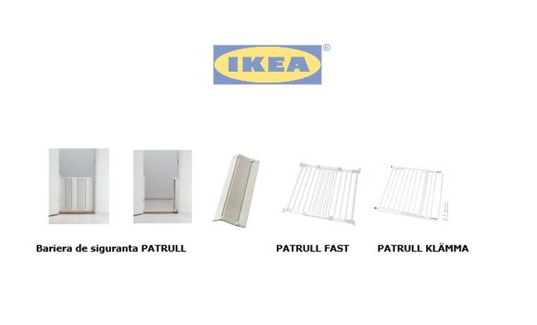 IKEA recheama barierele de siguranta Patrull
