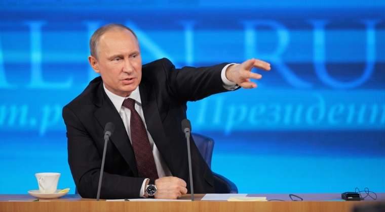 """Vladimir Putin: Brexit este alegerea poporului britanic si este de inteles, pentru ca """"nimeni nu vrea sa hraneasca economiile slabe"""