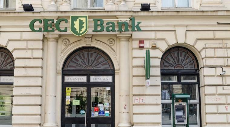 CEC Bank a incheiat cu un profit net de 11 milioane lei, in crestere cu 42% in 2015