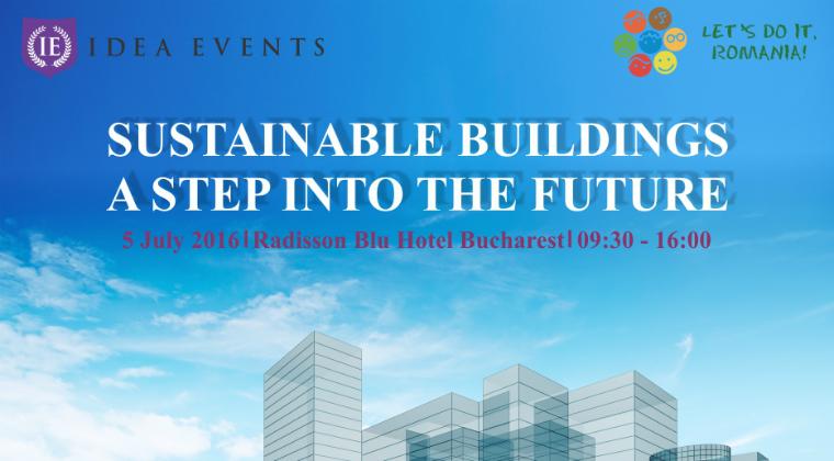 (P) Arhitectii celei mai sustenabile cladiri de invatamant din Olanda vin pentru prima data in Romania, la invitatiaA Idea Events si Let's Do It, Romania!