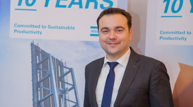 Atlas Copco se asteapta la vanzari mai mari cu 10% in 2016