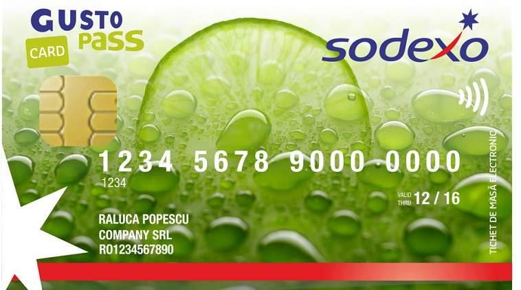 Cardurile de masa Sodexo pot fi folosite in peste 6.500 de magazine si restaurante