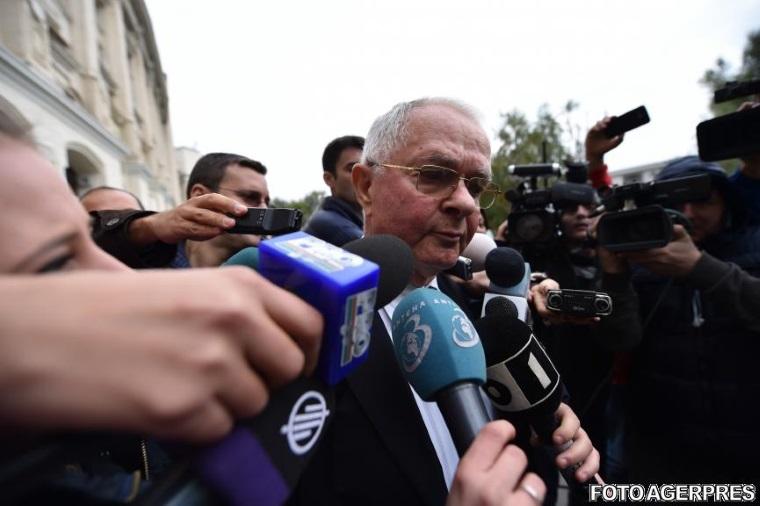 Virgil Magureanu, fostul director SRI, audiat la Parchetul instantei supreme, in dosarul Mineriadei