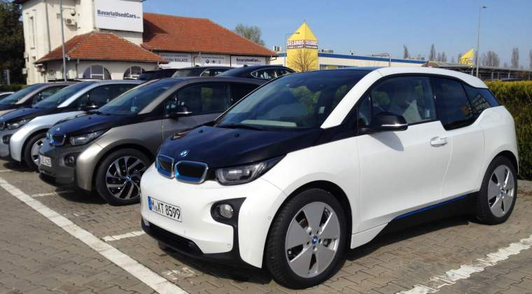 Image result for BMW i3 in romania