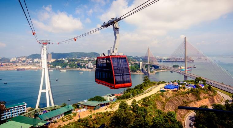 Cum arata cel mai mare tramvai aerian din lume, deschis in Vietnam