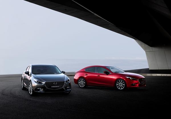 Mazda a prezentat in Japonia Mazda3 facelift