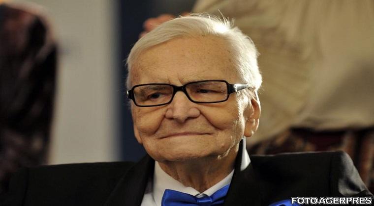 Actorul Radu Beligan a murit la varsta de 97 de ani in urma unui stop cardio-respirator