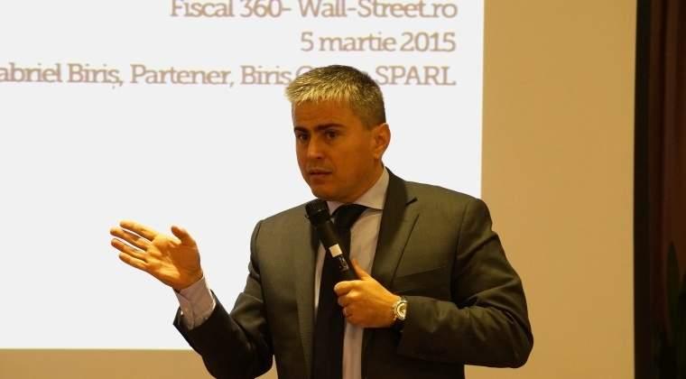 Gabriel Biris: Declaratia 088 este necesara pentru combaterea evaziunii, nu pentru scopul declarat
