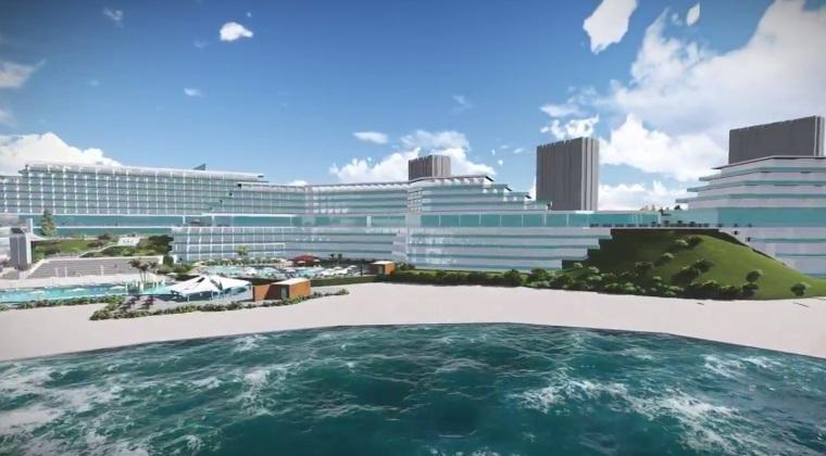 Cum va arata complexul hotelier Amfiteatru-Belvedere-Panoramic din Olimp. Jack Nicholson, printre potentialii cumparatori
