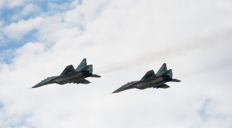Bulgaria denunta zece incalcari ale spatiului aerian NATO de catre avioane militare si comerciale ruse