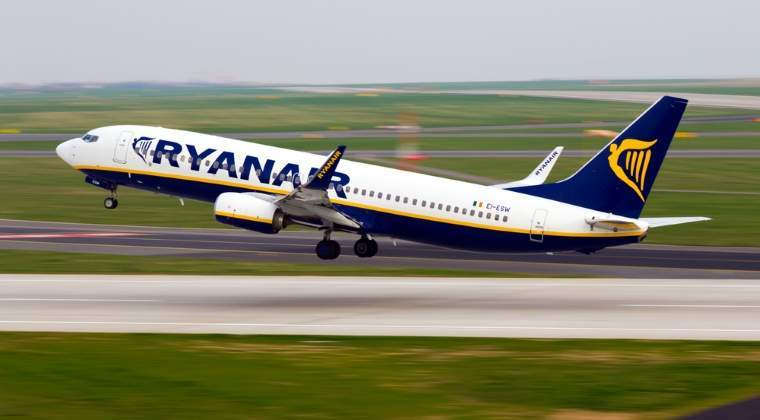 Ryanair reduce tarifele cu 30% in octombrie si noiembrie