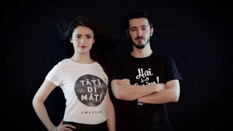 UaiUai sau cum a luat nastere brandul care readuce la viata si pe tricouri limba moldoveneasca