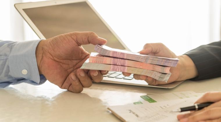 Structura veniturilor clientilor care au accesat un credit ipotecar