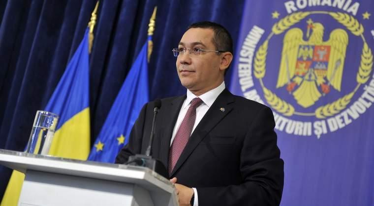 Ministrul Educatiei a semnat ordinul prin care i-a retras titlul de doctor lui Victor Ponta