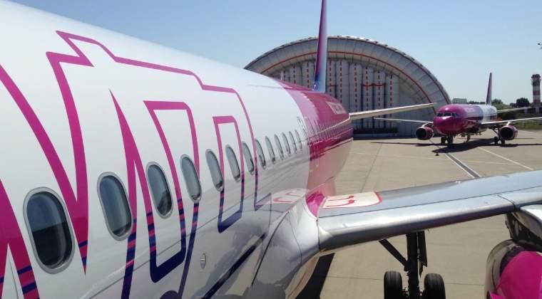 Wizz Air reduce cu 25% pretul biletelor pentru toate zborurile din/catre Romania pentru o zi