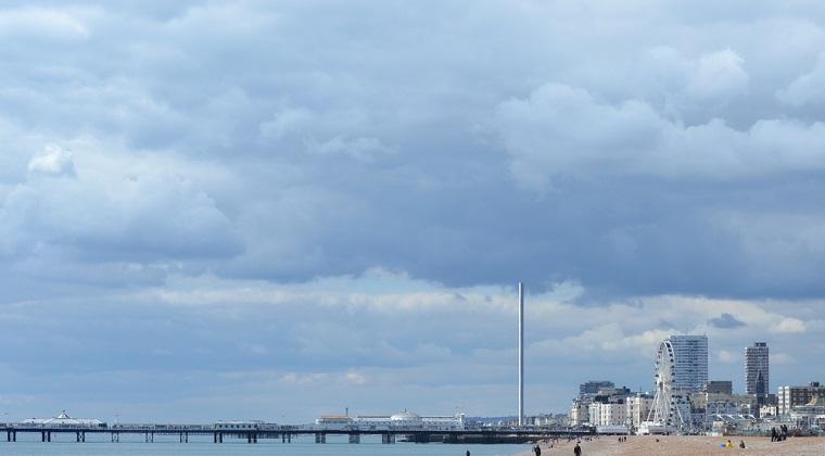Cum arata cel mai subtire turn din lume ce tocmai a fost inaugurat in Marea Britanie