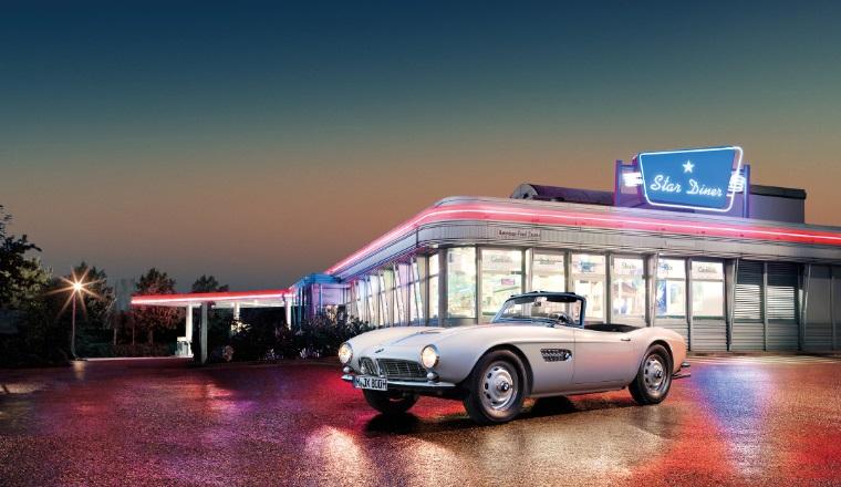 BMW 507, modelul care a apartinut lui Elvis Presley a fost restaurat