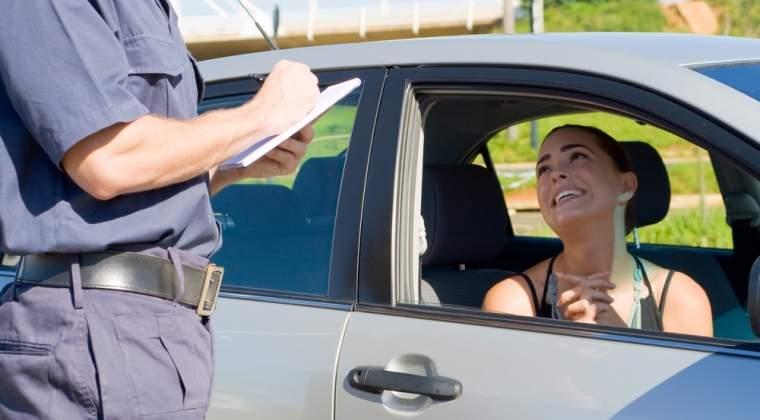 Aproape 50 de soferi care au depasit viteza legala pe A2, depistati dintr-o masina de politie neinscriptionata