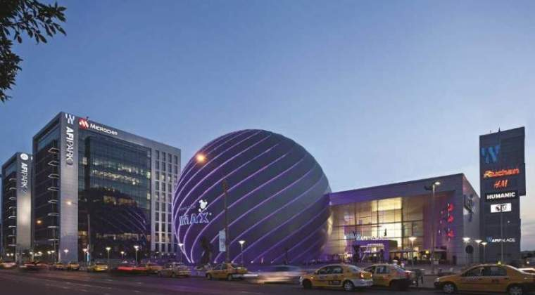 Mall-urile AFI le-au adus israelienilor de la AFI Europe Romania afaceri de peste 22 mil. euro in prima jumatate a anului