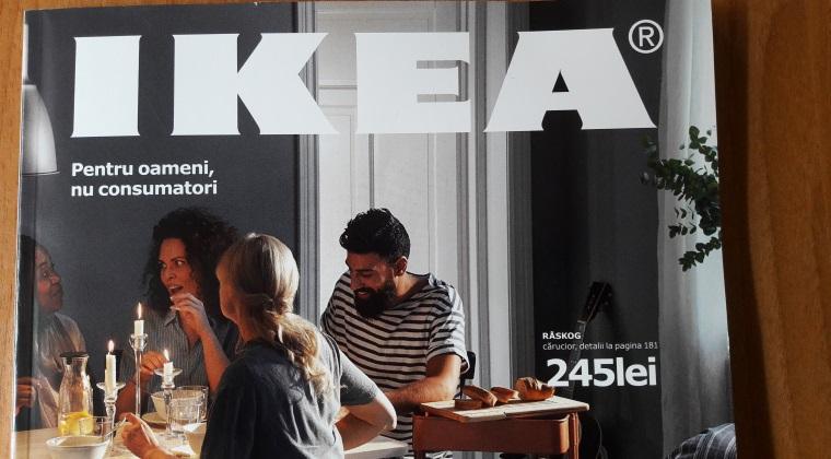 IKEA lanseaza catalogul pentru Romania. Retailerul lucreaza la un mobilier din hartie