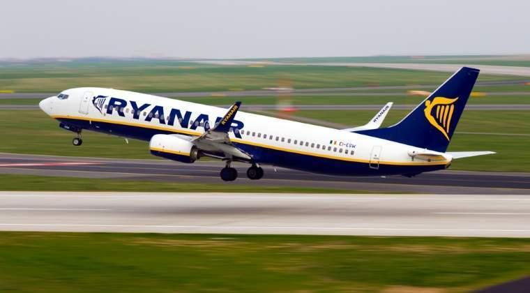 Ryanair a transportat in prima jumatate a anului de peste doua ori mai multi pasageri decat in primul semestru din 2015