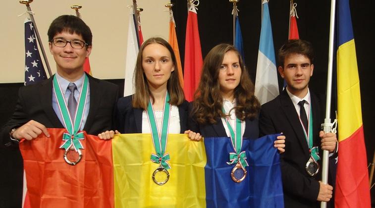 Elevii romani adjudeca medalii la la Olimpiada Internationala de Stiinte ale Pamantului 2016
