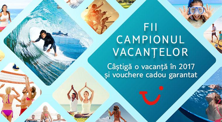 (P) TUI TravelCenter cauta campionul vacantelor!