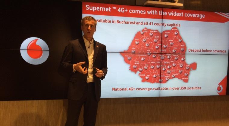 Vodafone a lansat Supernet 4G+ - ce promite operatorul