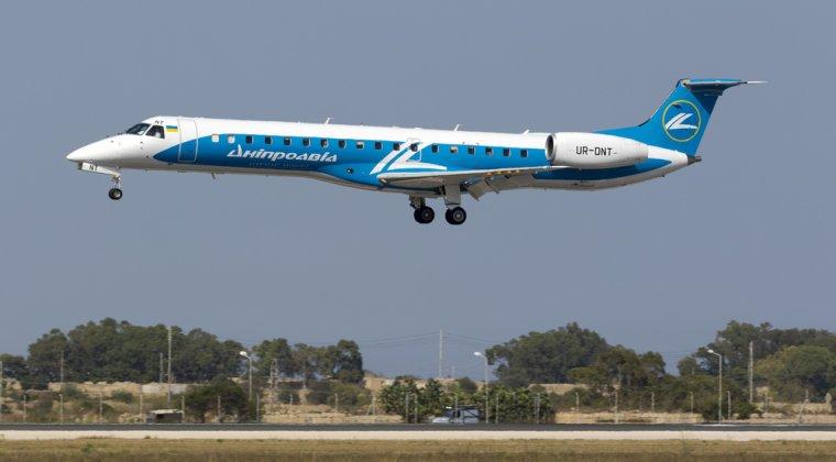 Compania aeriana ucraineana Dniproavia a lansat zboruri pe ruta Bucuresti-Kiev