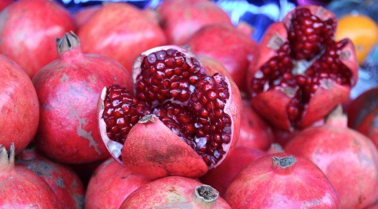 ANSVSA retrage de pe piata 29 de tone de rodii importate din Turcia, care contin pesticide peste limita admisa