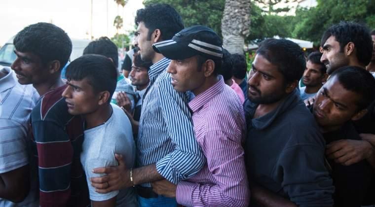 Circa 2.300 de migranti au fost salvati sambata din Marea Mediterana