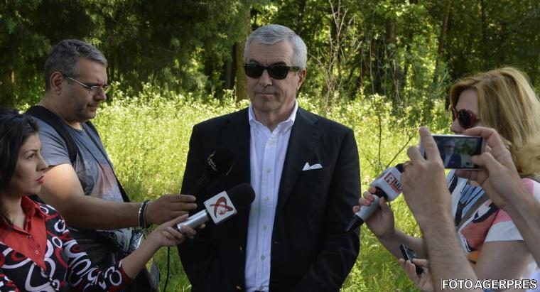 Calin Popescu Tariceanu a fost audiat la DNA in dosarul lui Bogdan Olteanu